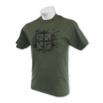 Cache Attack Tee - Ammo Green