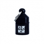 Hanging Nano Geocache Container - Black
