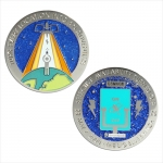 Big Blue Switch 2011 Geocoin